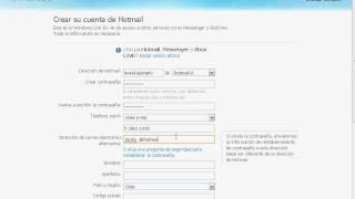 Tutorial Como Crear Una Cuenta De Windows Live ID