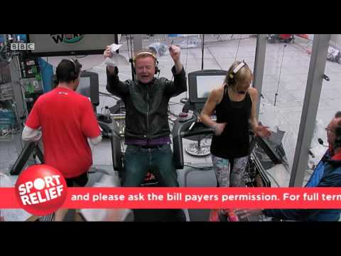 Jo Whiley's Sport Relief Challenge -- Watch Highlights