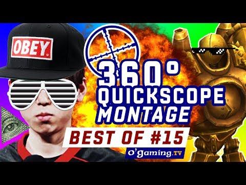 BEST OF LOL #15 - 360° QUICKSCOPE BLITZ MONTAGE - League of Legends