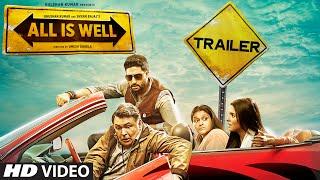 'All Is Well' Official Trailer-Abhishek Bachchan, Asin, Rishi Kapoor, Supriya