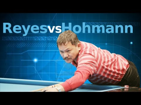 Efren Reyes Vs. Thorston Hohman at the Super Billiards Expo