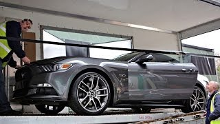 Ford Mustang Cabriolet 2015 50th Anniversary Loud Sound