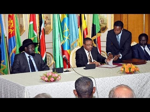 South Sudan warring parties sign ceasefire deal