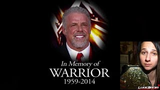 WWE Raw April 14 2014 Ultimate Warrior Tribute Live