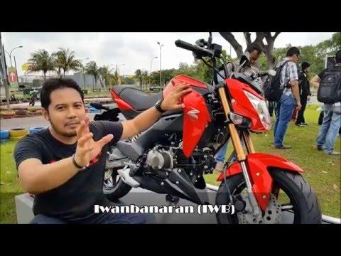 Kawasaki Z125 Pro review fisik [HD]