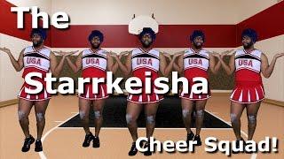 The Starrkeisha Cheer Squad! | Random Structure TV