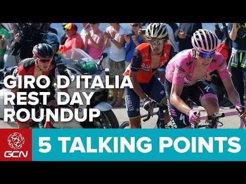 5 Talking Points - Rest Day Roundup Giro d'Italia 2017