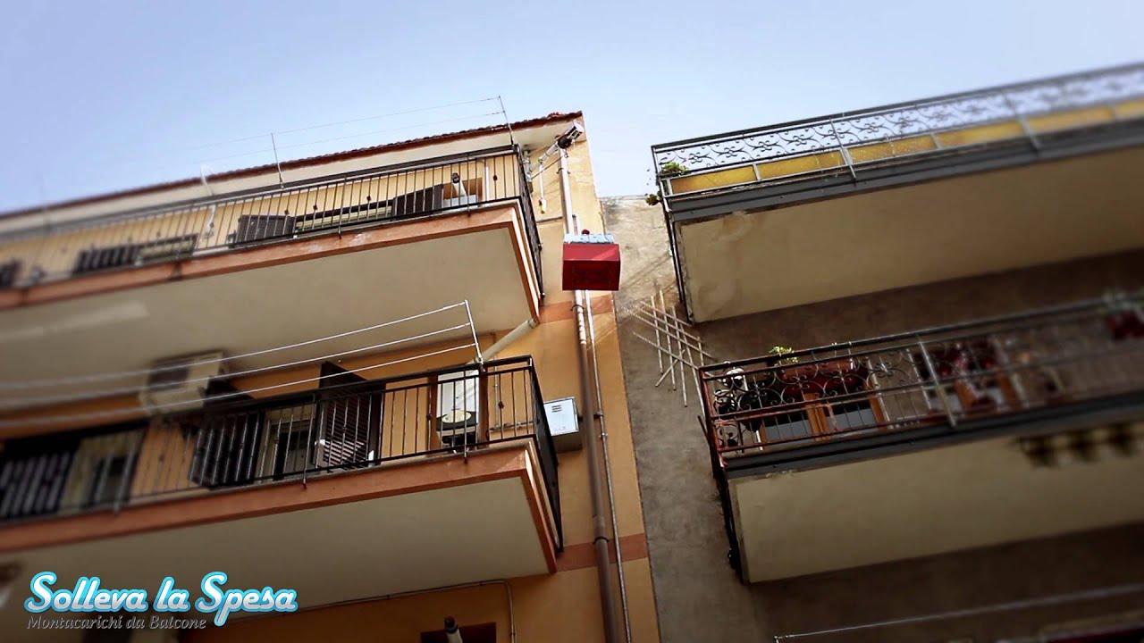 Solleva la spesa montacarichi da balcone per la spesa - Alzare il tetto di casa ...