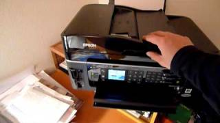 Epson Workforce 610 Document Feeder Paper Jam