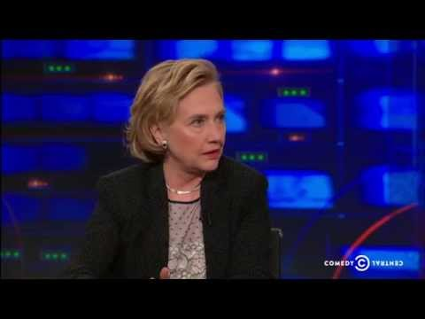 The Daily Show Exclusive -  Hillary Clinton Extended Interview - Pt. 3