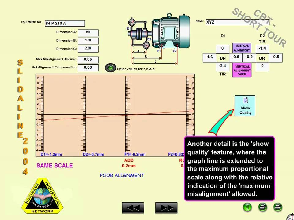 rotating equipment alignment methods and training