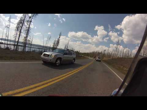 Biker Lawyer rides Yellowstone National Park 8-2013 part 3