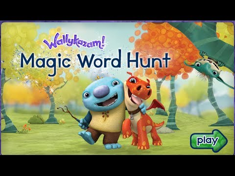 Wally Kazam WallyKazam Magic Word Alphabet Hunt - Baby games