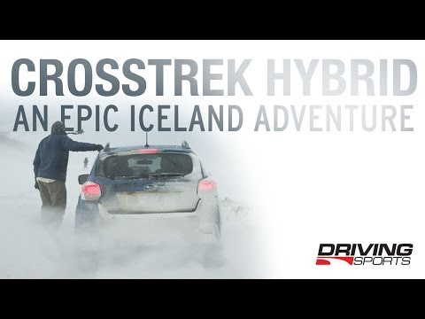 Surviving Iceland in the Subaru Crosstrek Hybrid
