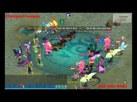 Phi Long Hạng Vàng CK 5AE Siêu Nhân vs Champion League