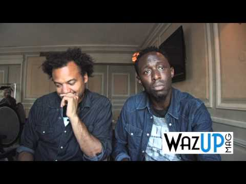 Interview de Fabrice Éboué et Thomas Ngijol - WAZUP MAG
