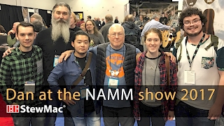 Watch the Trade Secrets Video, Dan Erlewine at the NAMM Show 2017