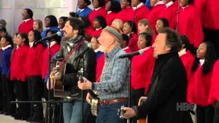 Pete Seeger & Bruce Springsteen This Land Is Your Land