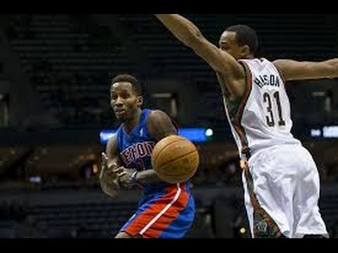 Milwaukee Bucks vs Detroit Pistons | Full Game Highlights | March 31, 2014 | NBA 2013-14 Season
