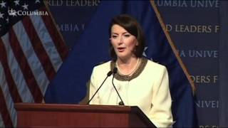 World Leaders Forum: President of the Republic of Kosovo, Atifete Jahjaga