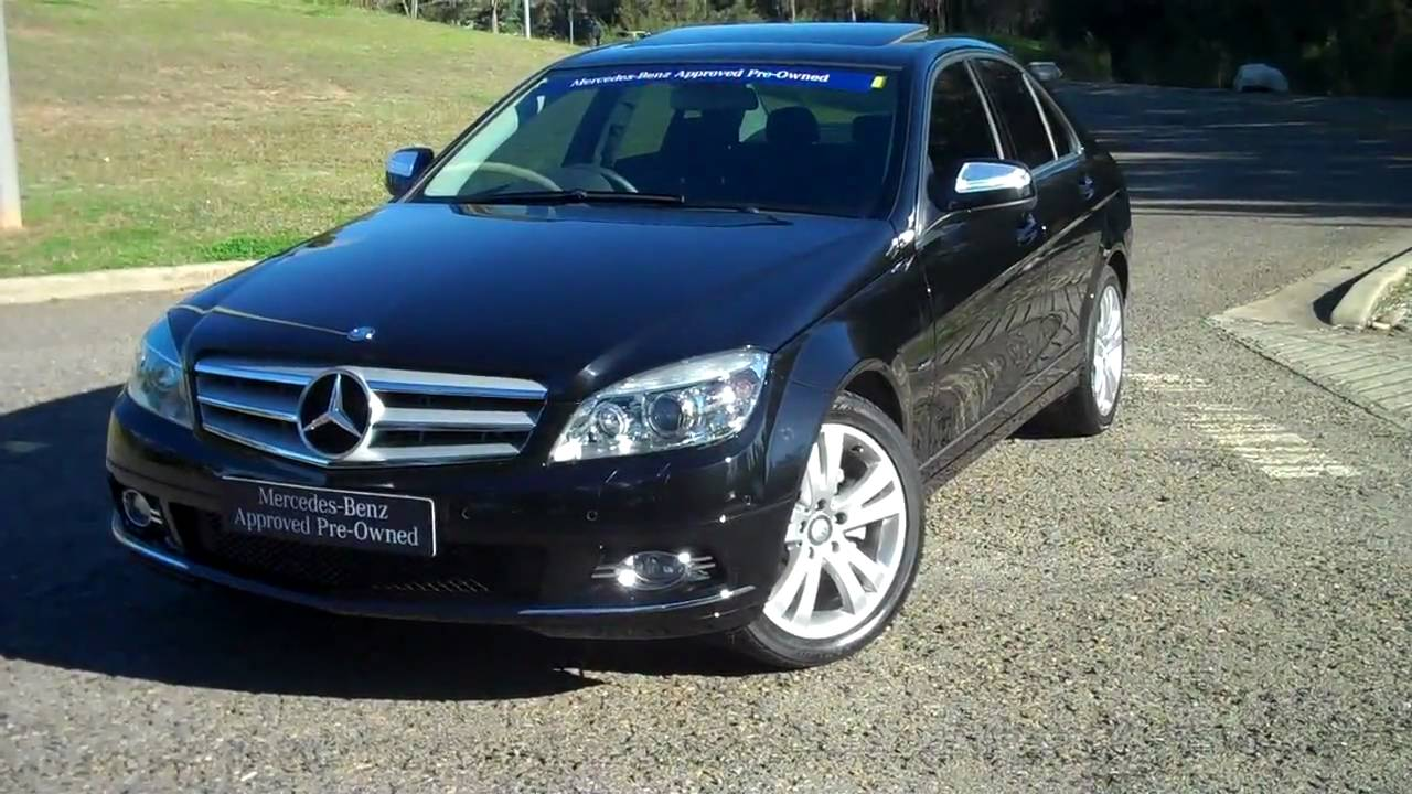 2008 mercedes benz c 200 kompressor avantgarde youtube. Black Bedroom Furniture Sets. Home Design Ideas