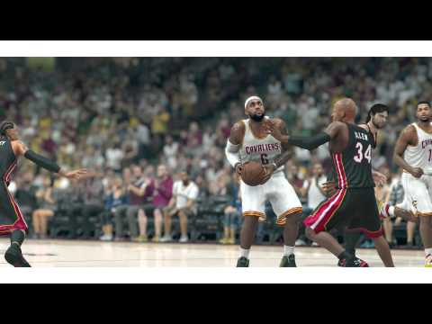Lebron James Returns to the Cleveland Cavaliers   NBA 2k14 Highlights