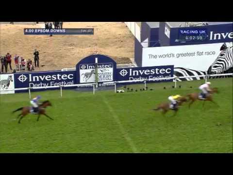 Vidéo de la course PMU EPSOM DERBY