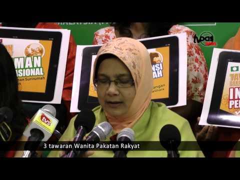 3 tawaran Wanita Pakatan Rakyat