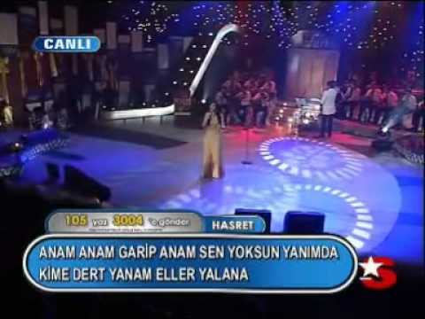 Hasret - Anam Anam (İbrahim Tatlıses - Anam) (Popstar Perfomansları)