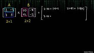 Množenje matrik 1