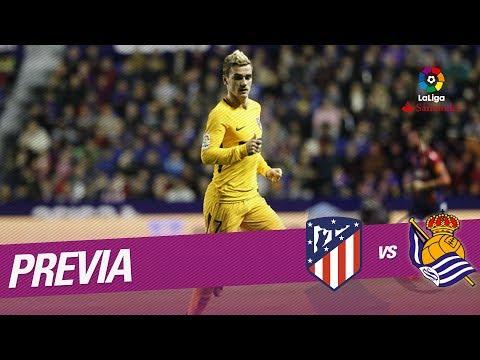 Previa Atlético de Madrid vs Real Sociedad