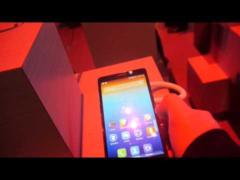 Lenovo Vibe Z Smartphone im Hands-On