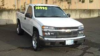 "2005 Chevrolet Colorado Regular Cab 5-Speed 2.8L 20"" wheels Tinted Windows videos"