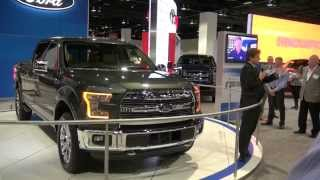 Part 1; Denver Auto Show 2014, Featuring Ford F150 2015