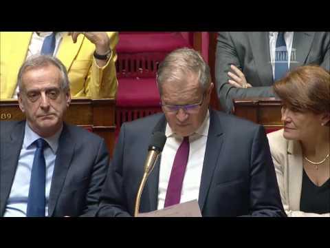 M. Philippe Armand Martin - Aide à l'agriculture française