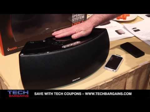 Korus CES 2014 Korus Wireless Speaker Preview (HD)