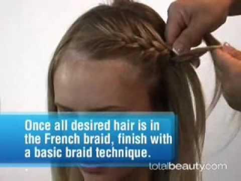 Cách tết  tóc cô dâu kiểu Pháp Trendy Braided Style How To