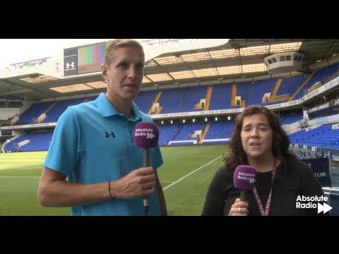 Tottenham captain Michael Dawson chats to Absolute Radio