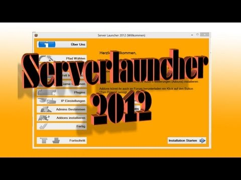 Server Launcher 2012 - Minecraft Bukkit Installations- und Konfigurationshilfe für Windows