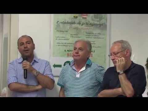 Inaugurazione sede Cisl Bari Anteas Anolf quartiere Carbonara