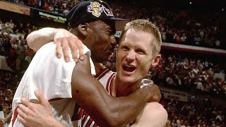 Michael Jordan on the Time He Punched Steve Kerr in the Face