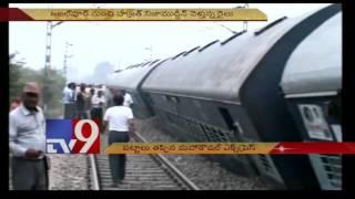 12 injured as Mahakaushal Express derails near Kulpahar in UP