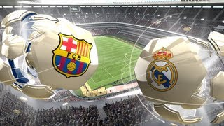 FIFA 13 Xbox 360 Gameplay HD FC Barcelona Vs. Real