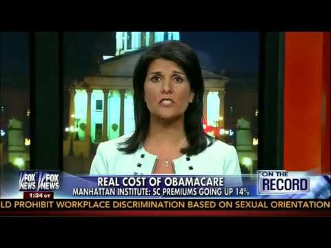 South Carolina Gov. Nikki Haley on FOX News' On The Record with Greta Van Susteren