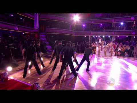 Opening dance & intro of Julianne Hough - DWTS Season 17 Week 4