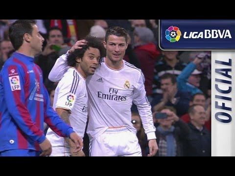 Todos los goles | All goals Real Madrid (3-0) Levante UD - HD