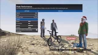 Grand Theft 5 Glitches - HOW TO FLY A BMX BIKE - Great For Stunts & Montages
