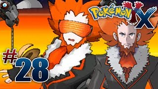 Let's Play Pokemon: X Part 28 Team Flare Boss Lysandre
