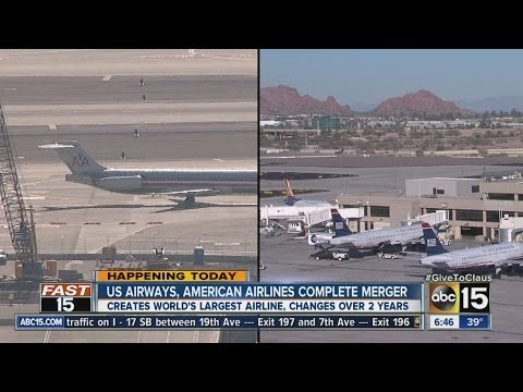 US Airways, American Airlines complete merger