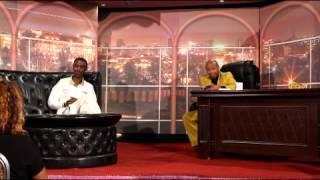 Artist Seleshi Demese Gash Abera Mola At Seifu Fantahun Late Night Show